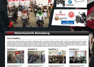 Screendesign MTR Reinsberg