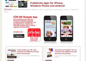Responsive Webdesign Appparty.ipublish.de
