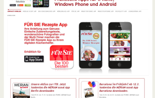 Responsive Webdesign Appparty.ipublish.de