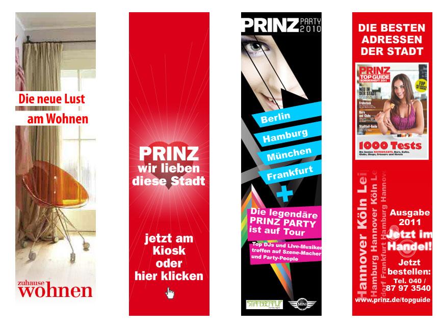 PRINZ Online Werbebanner