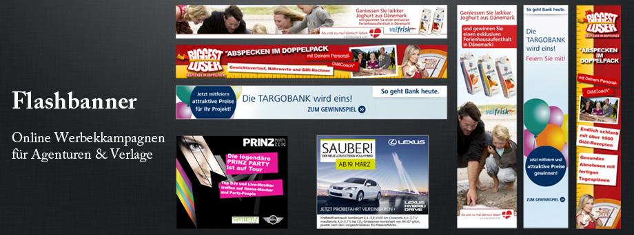 Online Werbemittel Kampagnen JF Mediendesign