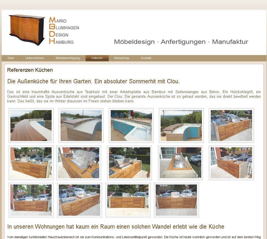 Webdesign Mbdh Möbel