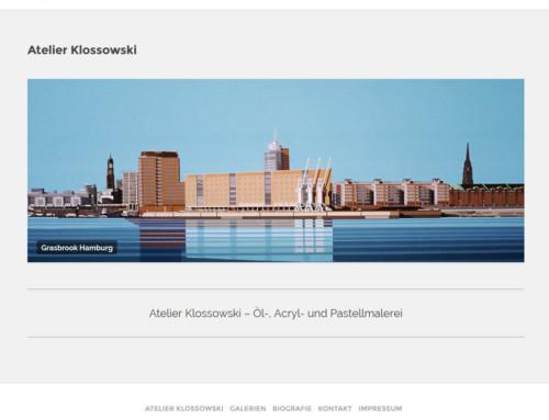 Webdesign Atelier Klossowski
