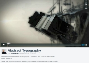 3D Motion Graphics JF Mediendesign