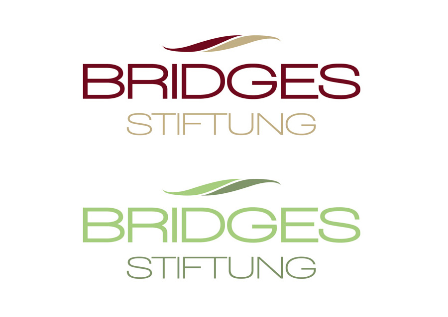 Logodesign Bridges Stiftung