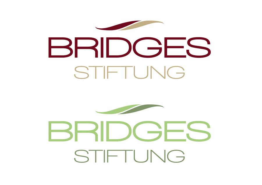 Logodesign Bridges Stiftung