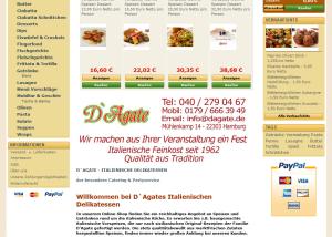 Prestashop Webdesign dagate.de