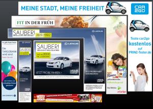 Online Werbebannner JF Mediendesign