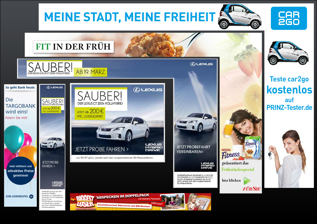Flash Online Werbebannner JF Mediendesign