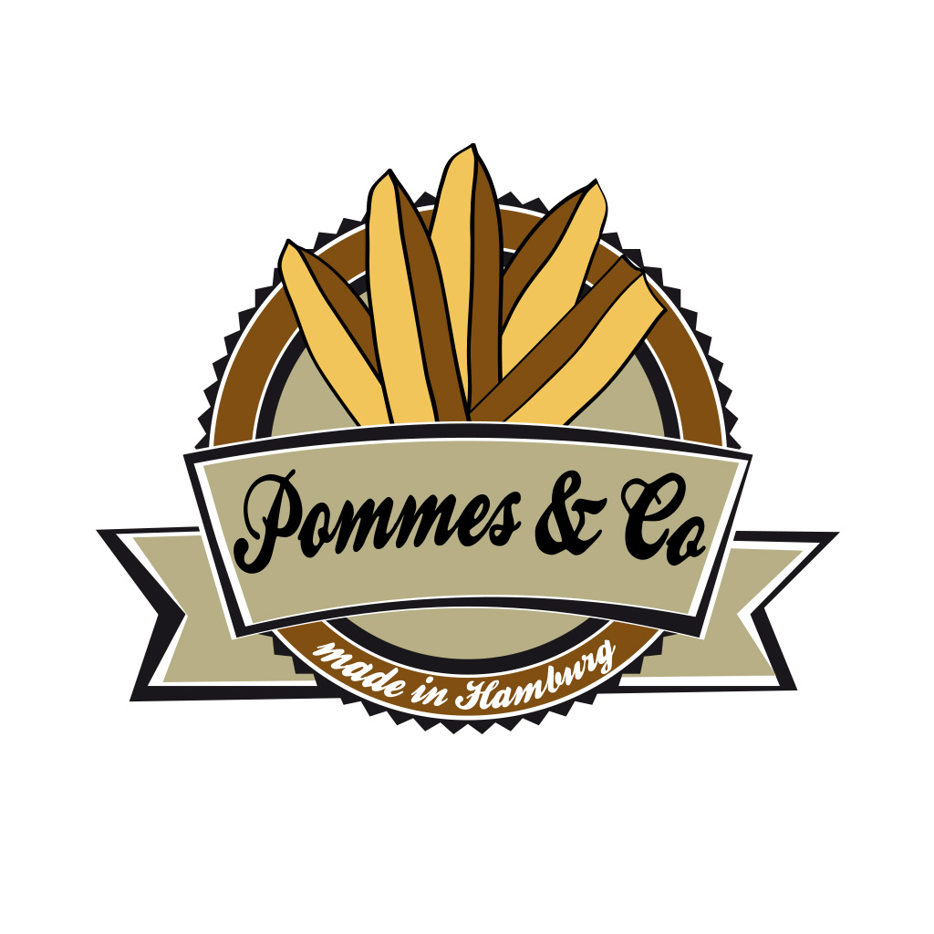Logodesign Pommes und Co