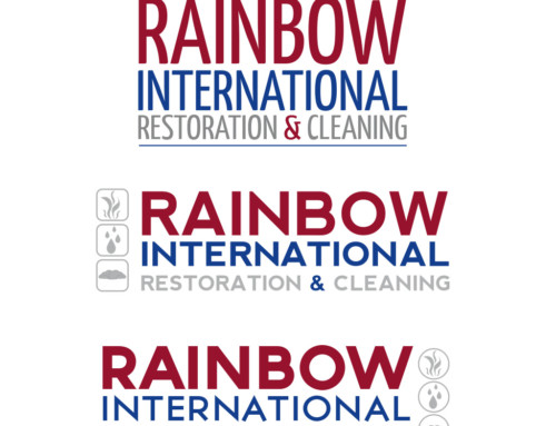 Logoentwürfe Rainbow International