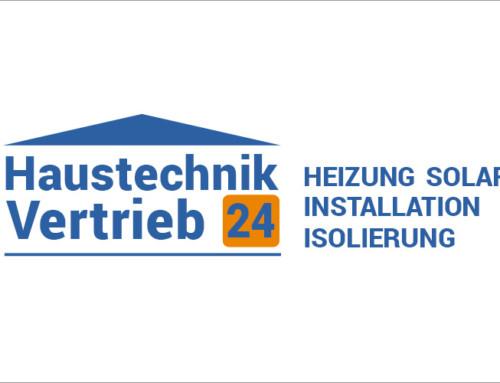 Logo Design Haustechnik Vertrieb 24