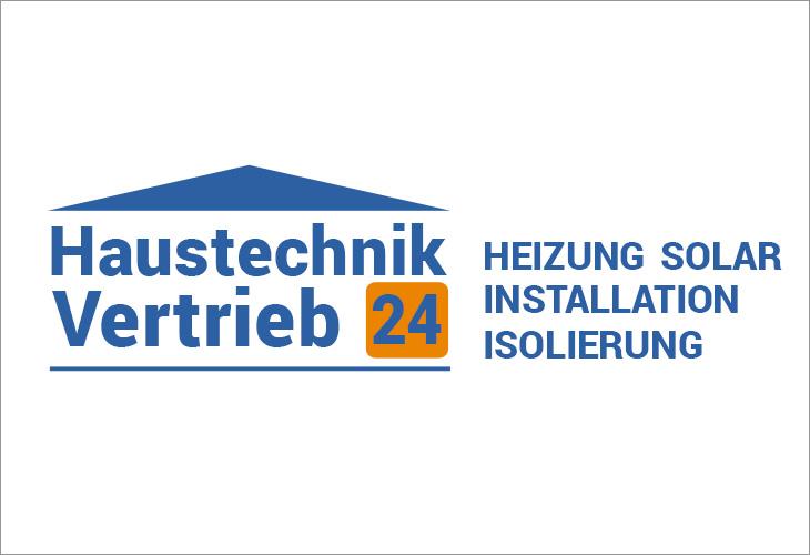 Logodesign Haustechnik Vertrieb 24