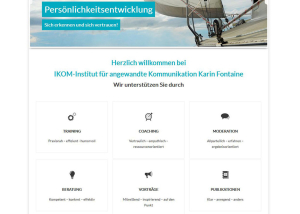 Wordpress Webdesign ikom-seminare.de