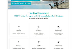 Wordpress Webdesign ikom-seminare.de