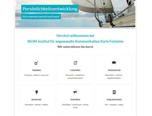 Relaunch der Webseite ikom-seminare.de