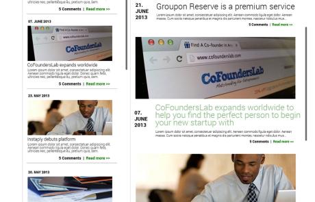 UI-Design JF Mediendesign Blogpage_Conversion_Group