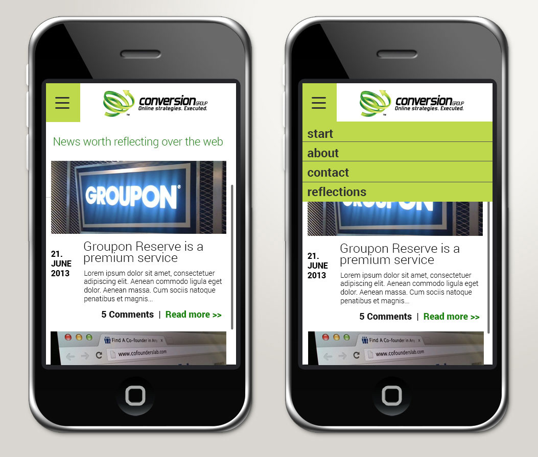 UI-Design JF Mediendesign