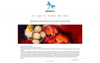 Wordpress Webdesign maysha-s.com