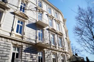 Hamburger Altbau Fassaden 26 Hamburg Fassaden - Architektur aus der Gründerzeit JF Mediendesign