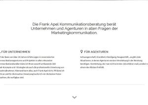 Wordpress Webdesign frankapel.de