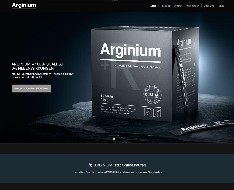 Wordpress Onlineshop arginium.de