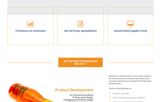 Wordpress Webdesign specpage.com