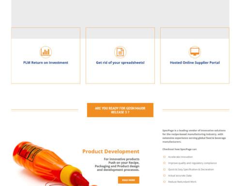 Webdesign Specpage.com