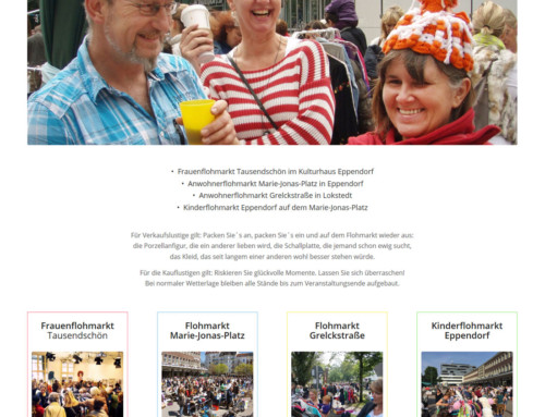 Flohmarkt Eppendorf – Webdesign