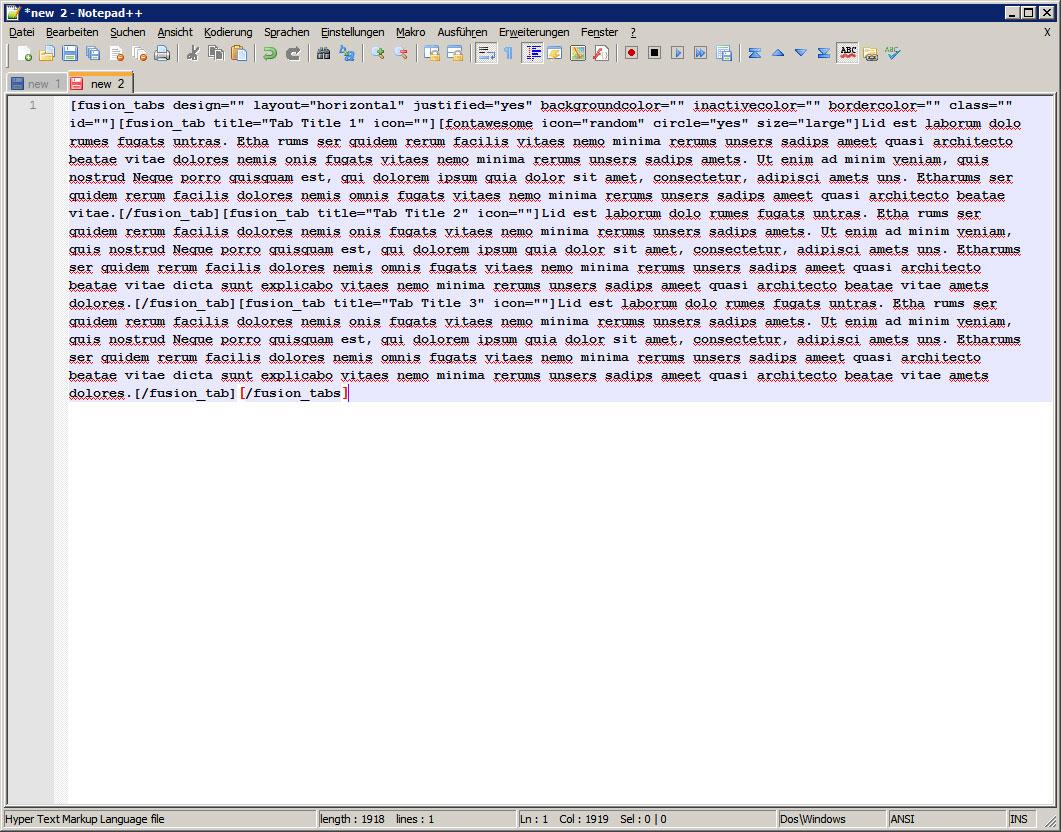 Kopierter-Shortcode-im-Html-Editor-Notepad++