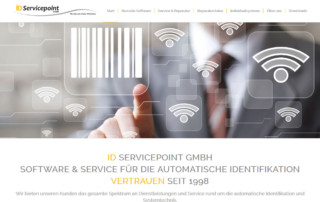 Wordpress Webdesign ID-Servicepoint GmbH