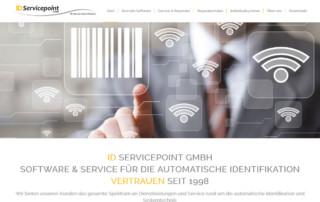 Webdesign-ID-Servicepoint-GmbH-Startseite