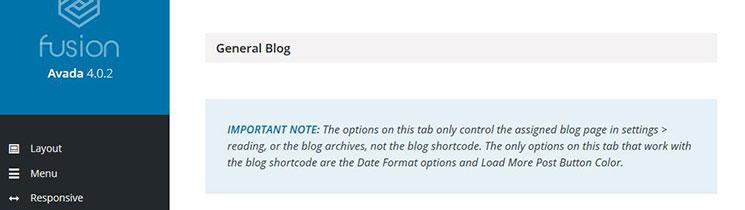 Blog-Options