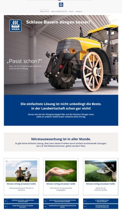 Wordpress Webdesign Passt-schon.de
