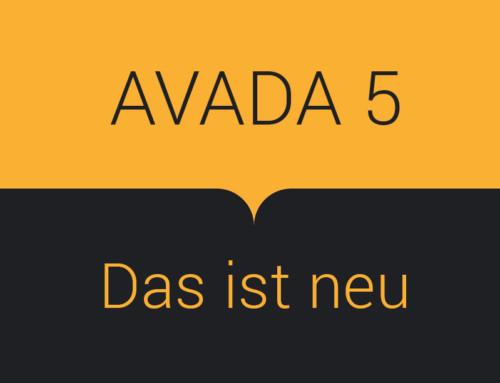 Avada Theme 5 – Das ist neu