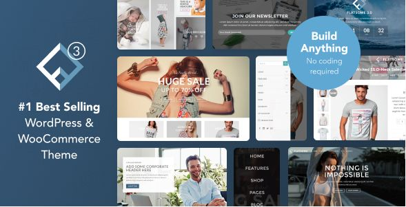 Flatsome | Multi-Purpose Responsive WooCommerce Theme von UX Themes