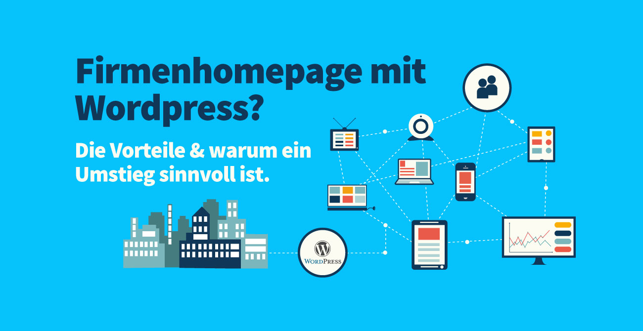 Firmenhomepage mit Wordpress?