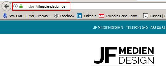 SSL Verschluesselung Wordpress OnPage SEO Webdesign Hamburg | JF Mediendesign