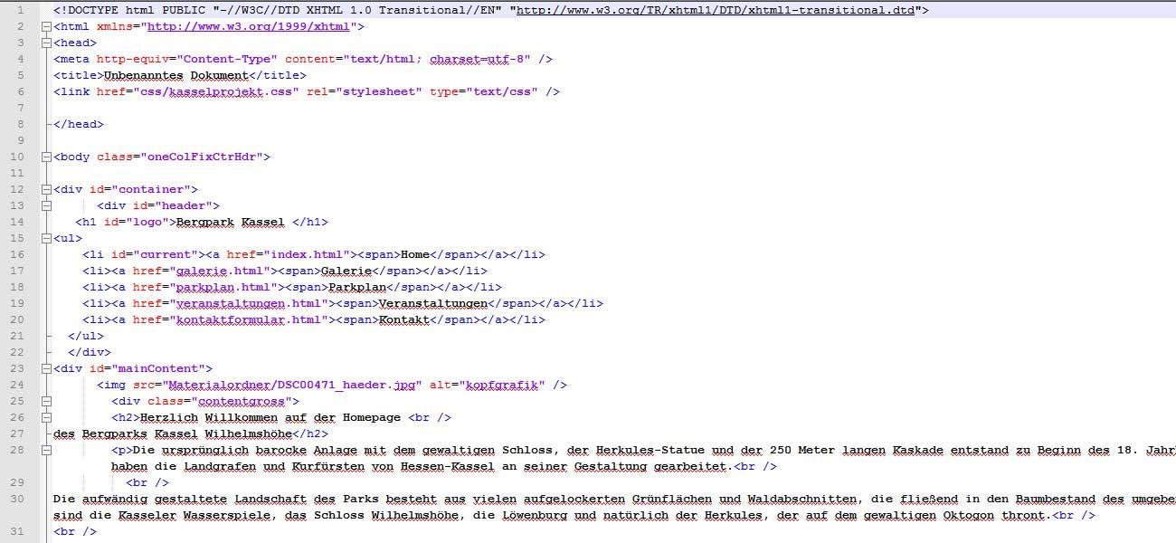 Veraltete Webstandards