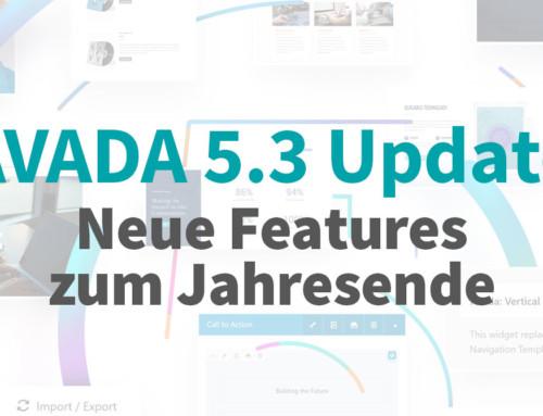 Avada 5.3 Update – Neue Features zum Jahresende