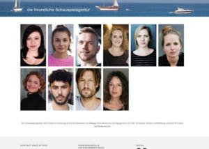 Webdesign Aries Actors