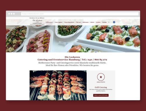 Webdesign Relaunch dieleckeren.com