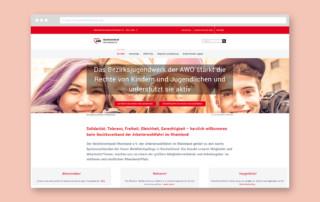 Webdesign Referenz AWO Rheinland