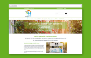 Webdesign Referen AWO Seniorenzentrum Alte Glaserei