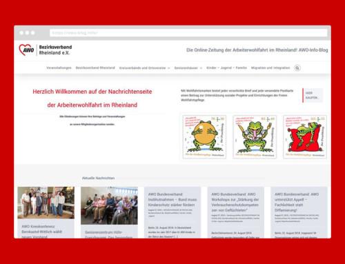 AWO Blog Rheinland Webdesign