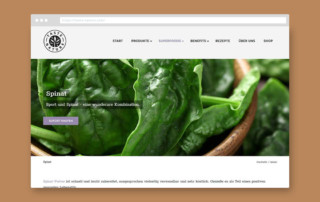 Webdesign Referenz Taste Nature