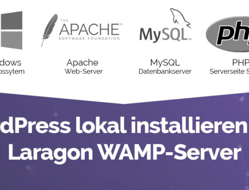 WordPress lokal installieren mit Laragon WAMP-Server