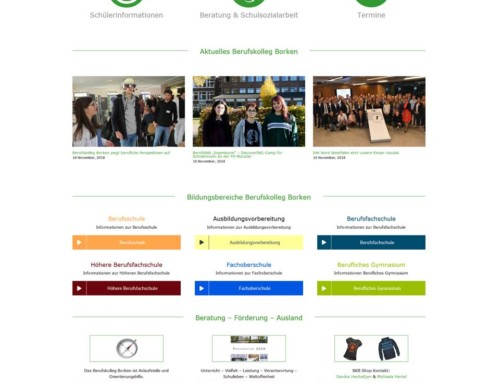 Berufskolleg Borken Webdesign