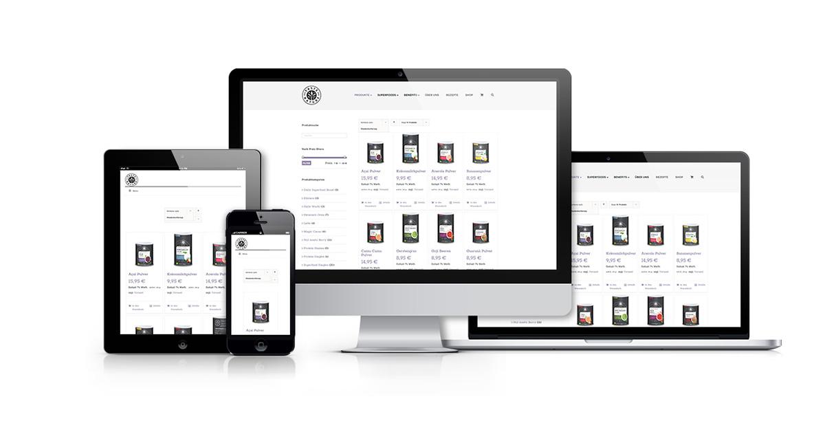 Basis Webseite JF Mediendesign