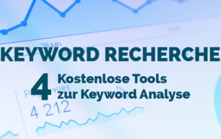 Keyword Recherche - 4 kostenlose Tools zur Keyword Analyse